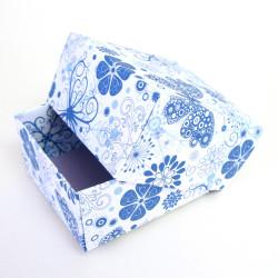 Kasten aus Pappe und Papier für Schmuck