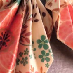 Vintage Style Origami Ohrringe