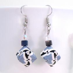 maritime Ohrringe mit Perle