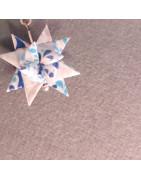 Origami Stern Ohrringe