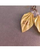 Ohrringe federleichte Blätter